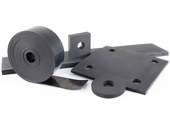 Reglin's premium rubber strips & pads and gaskets for the construction industry